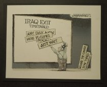 Image of Iraq Exit Timetable - Markstein, Gary, 1959-
